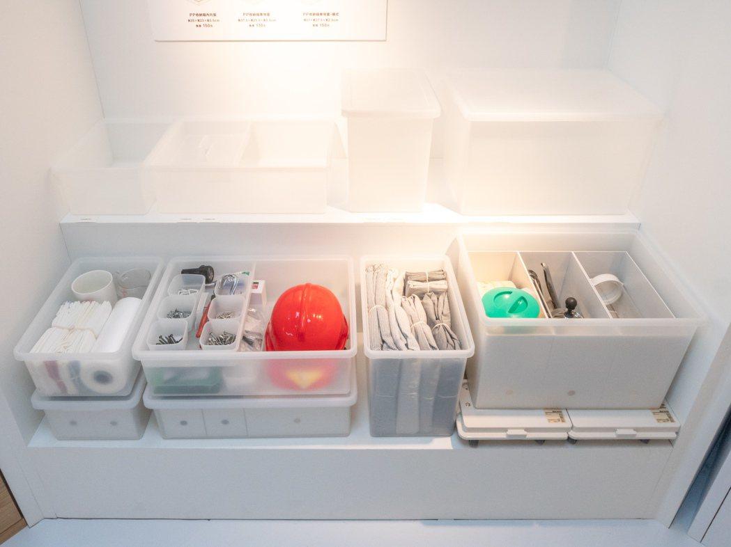 無印良品PP收納箱系列,預計12月上市。圖/無印良品提供