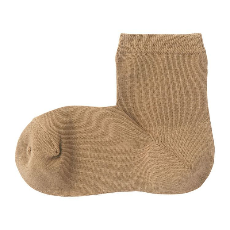 無印良品女棉混足口寬鬆舒適三層直角襪,售價從130元降至120元。圖/無印良品提...