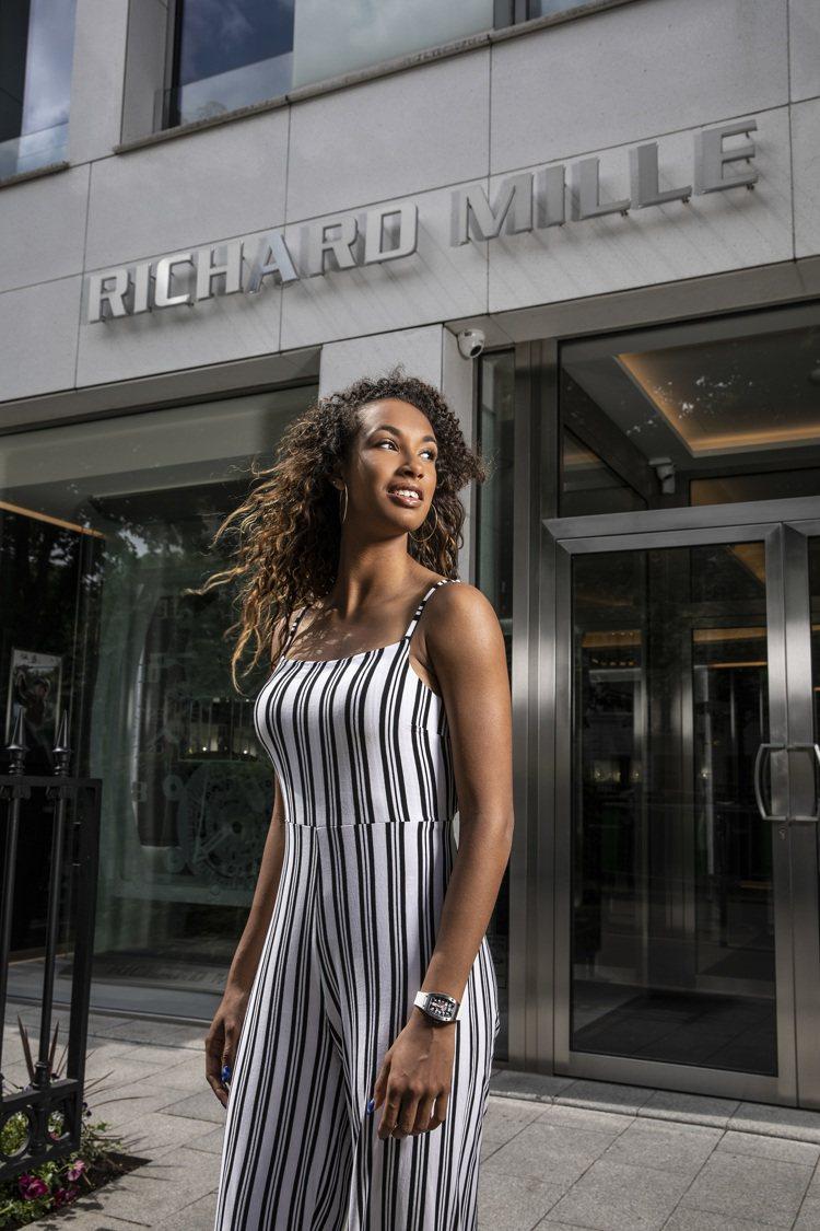 年僅18歲的西班牙七項全能好手Maria Vicente成為RICHARD MI...