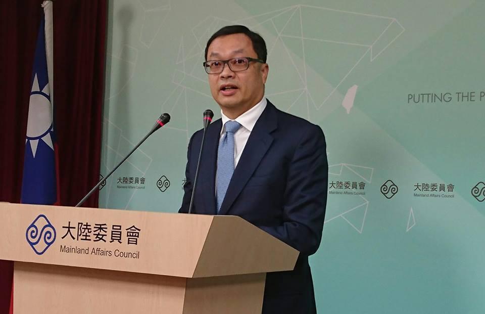 陸委會副主委陳明祺。聯合報系資料照片