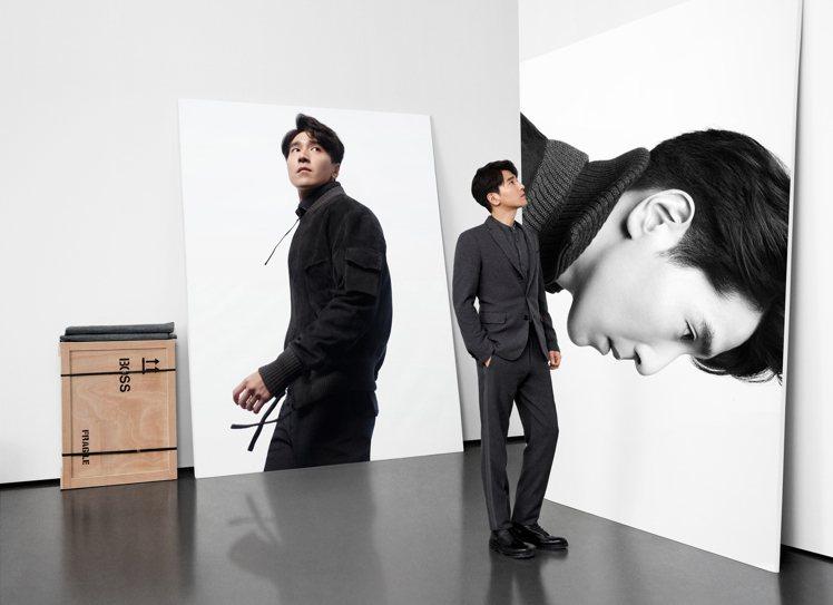 趙又廷身穿BOSS秋冬系列服飾,拍攝新一季「Man of Today」形象廣告。...