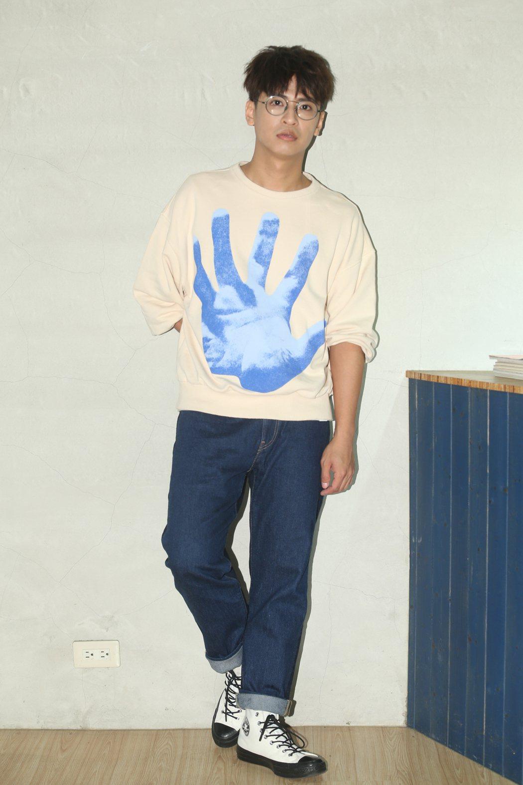 廖文強17日將在台北Legacy舉辦「背光的人」演唱會。記者葉信菉/攝影