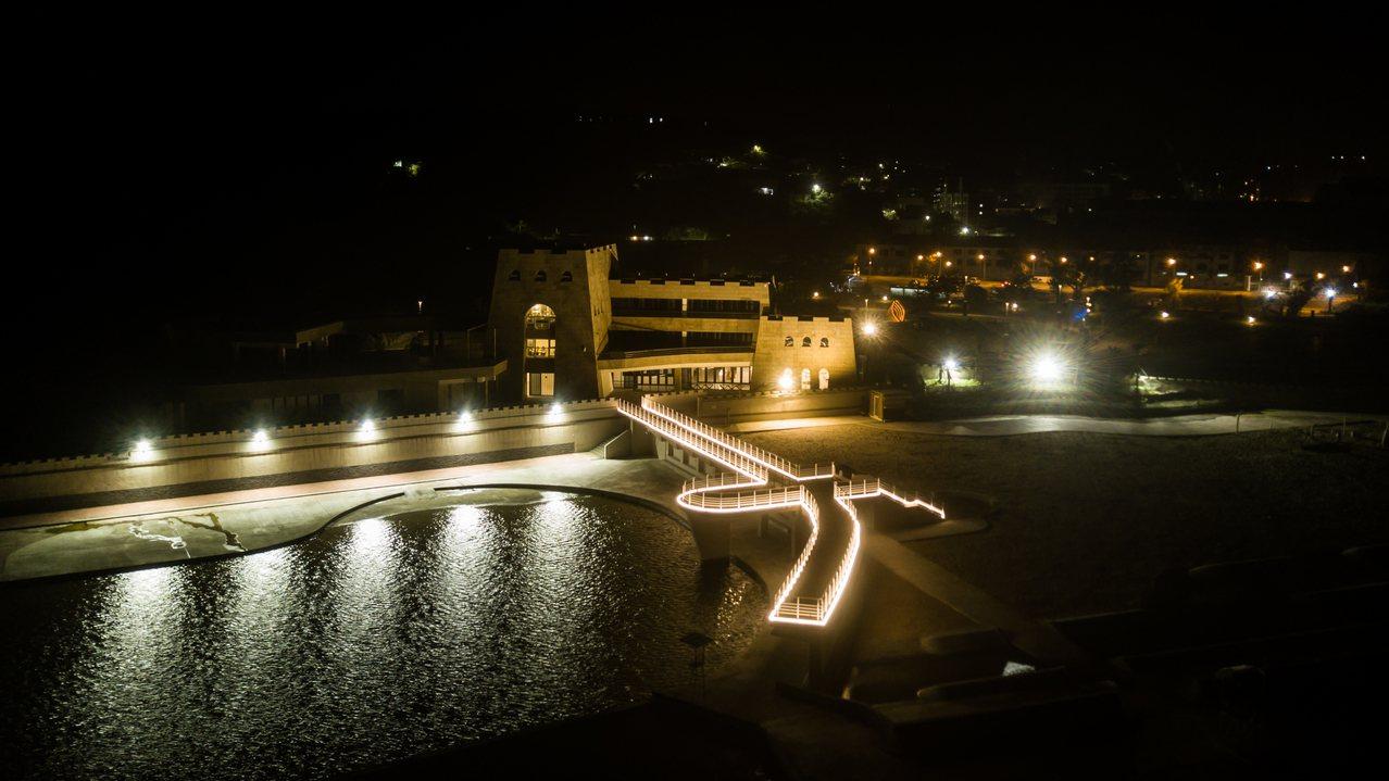 夜遊基隆和平島難得體驗,本周起連續4周末開放。圖/和平島公園提供