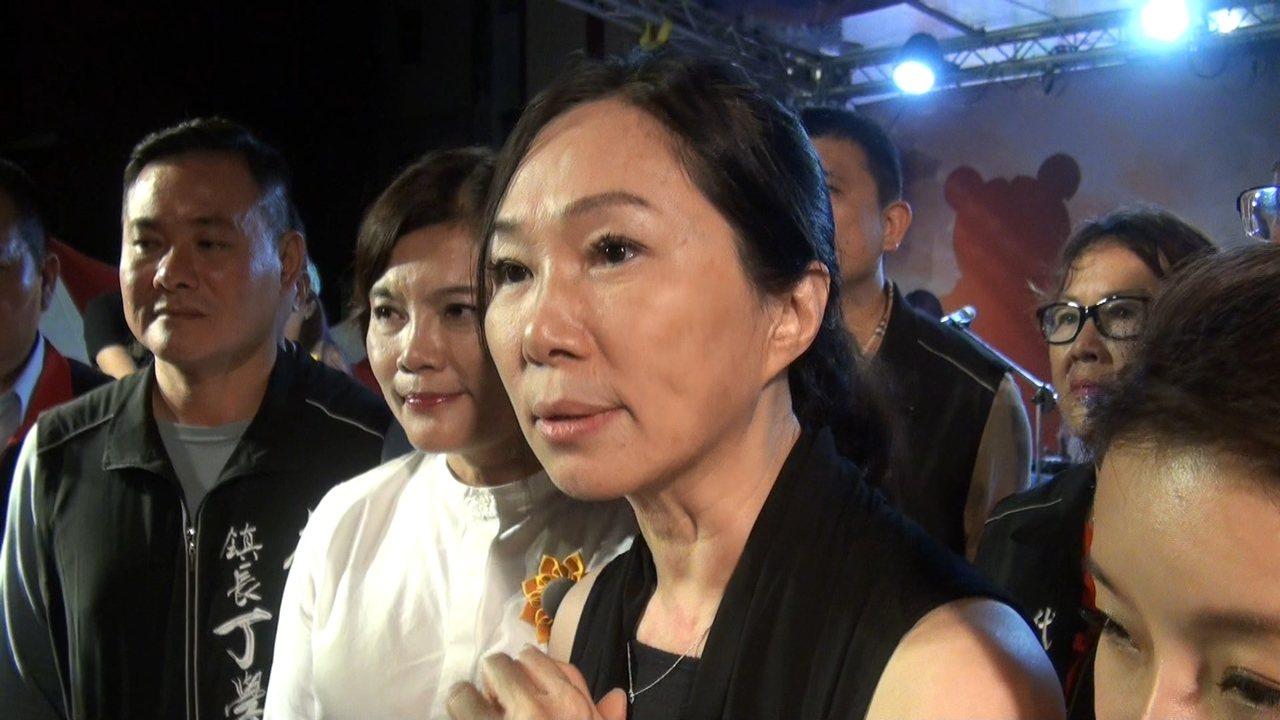 李佳芬希望所有參與政治活動的人都要心存善念。記者蔡維斌/攝影