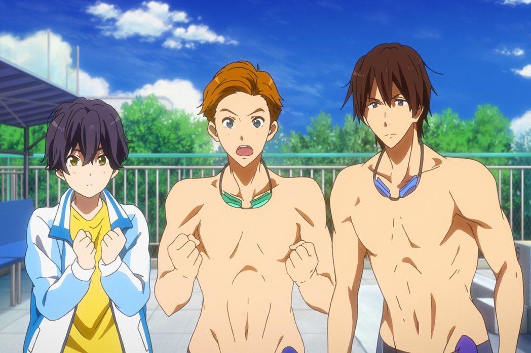 「劇場版FREE男子游泳部」是京都動畫又一精彩之作。圖/采昌提供
