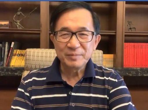 前總統陳水扁支持成立的「一邊一國行動黨」18日成立的新聞露出機會可能不敵「柯郭王...
