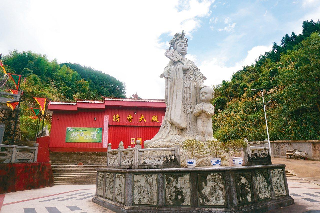 陳靖姑被譽為救產、護胎、佑民的「婦幼保護神」。 記者胡明揚/攝影