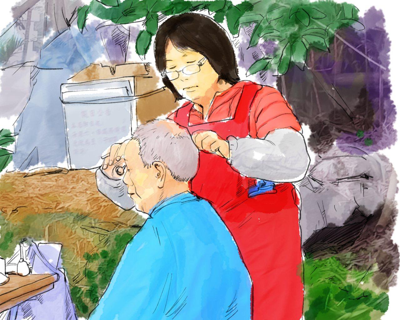 【青春名人堂】阮光民/山上理髮師