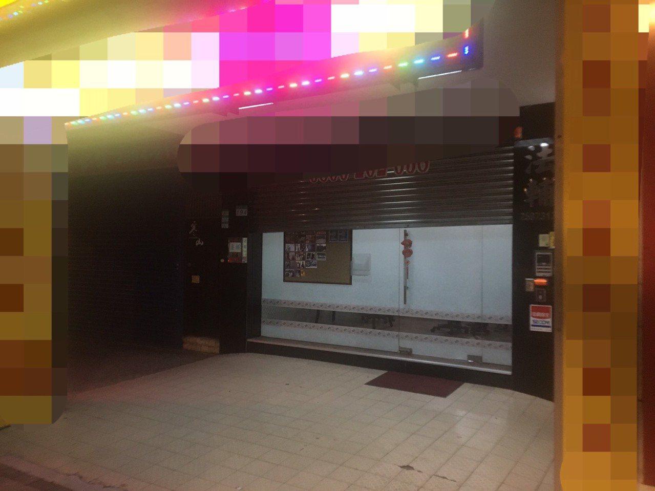北市大同區一家當舖店內今驚傳員工遭砍殺。記者蔡翼謙/攝影