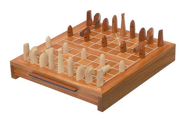 愛馬仕象棋盤,價格店洽。 圖/愛馬仕提供
