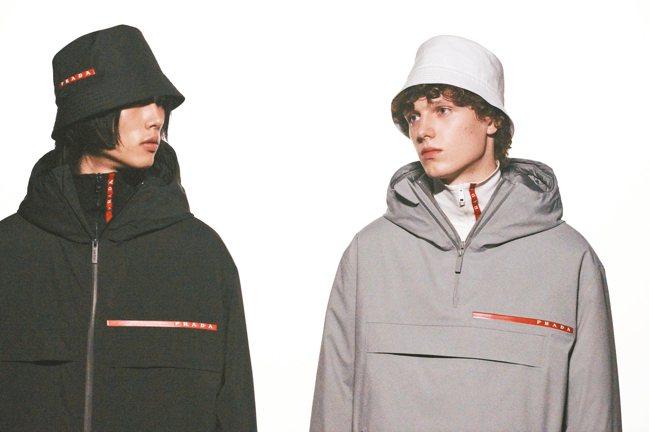 PRADA去年推出Linea Rossa系列,演繹嶄新的奢華運動風。 圖/PRA...