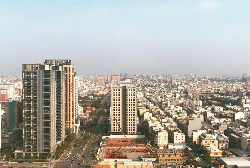 民眾想在六都購買新屋,難度前三名為北市、新北及台南。 記者游智文/攝影