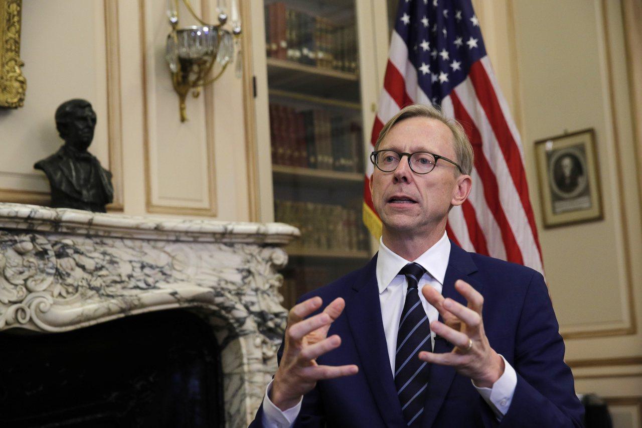 美國國務院伊朗事務特別代表胡克。 美聯社