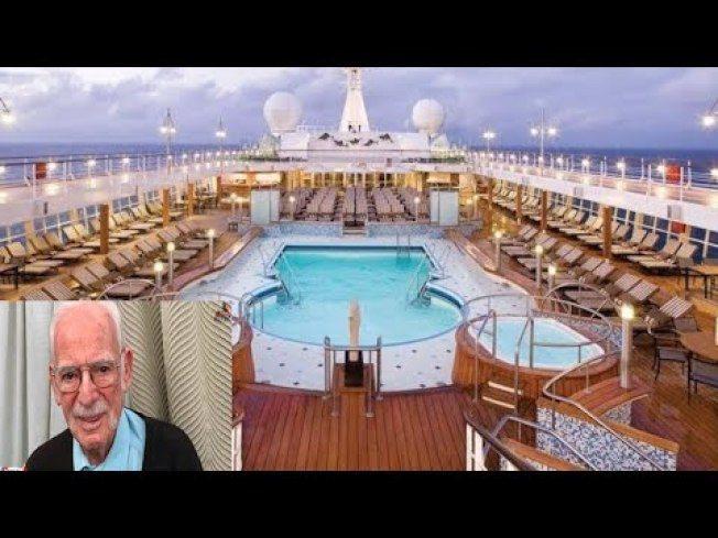 現年94歲的賈布林已在「七海遊輪」上住了超過13年。(取自YouTube)