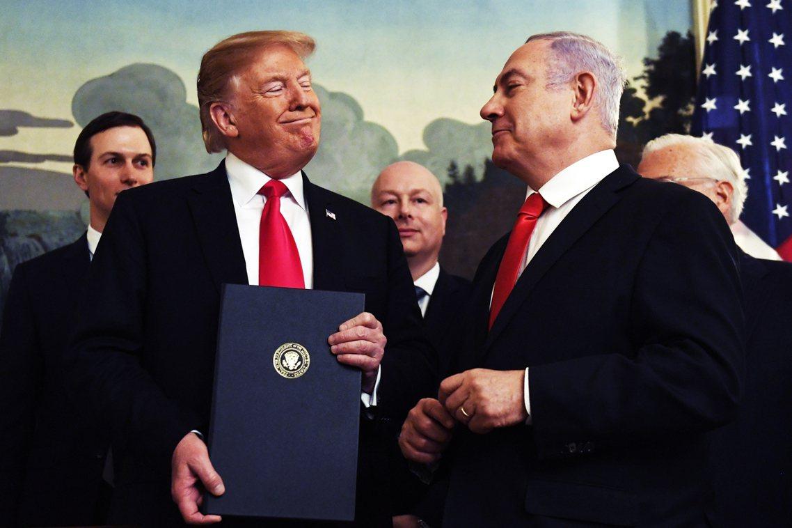 對於以色列而言,川普政權雖然是繼雷根之後,最親以、挺以、支持以色列區域戰略的美國...