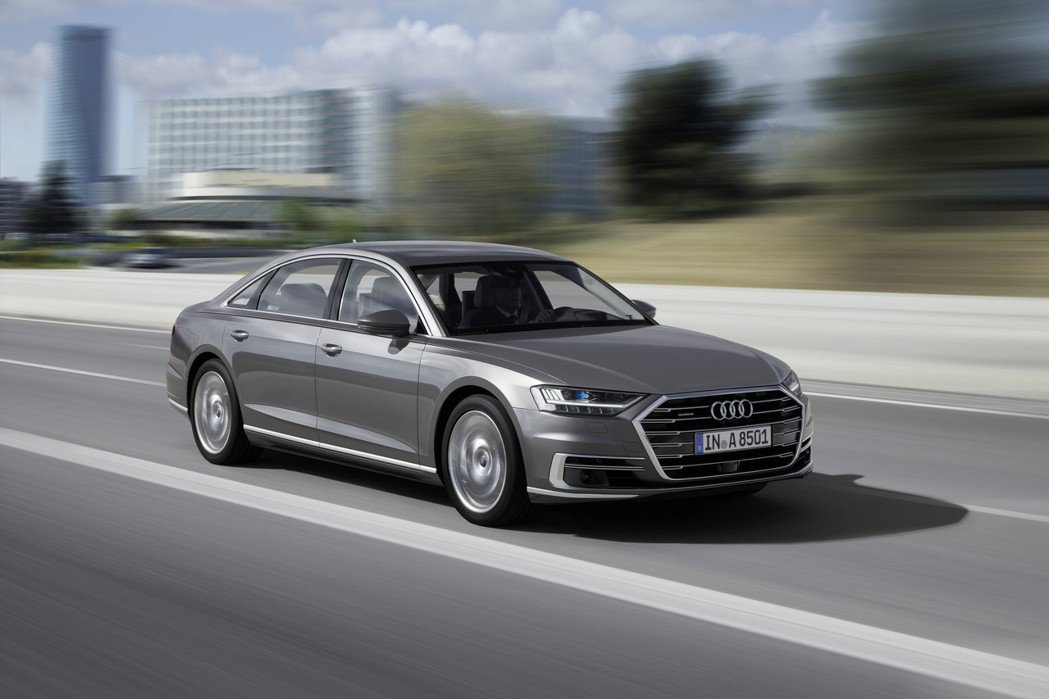 新世代Audi A8。 摘自Audi