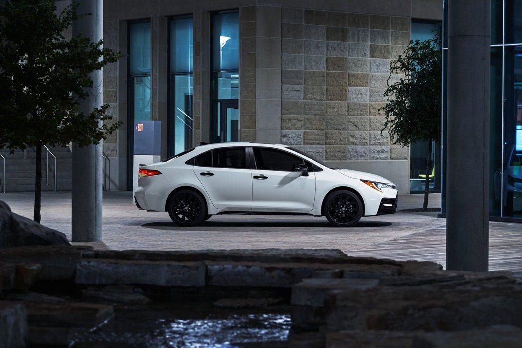 美規Toyota特別的「Nightshade」特仕車,如今又增添了Corolla...