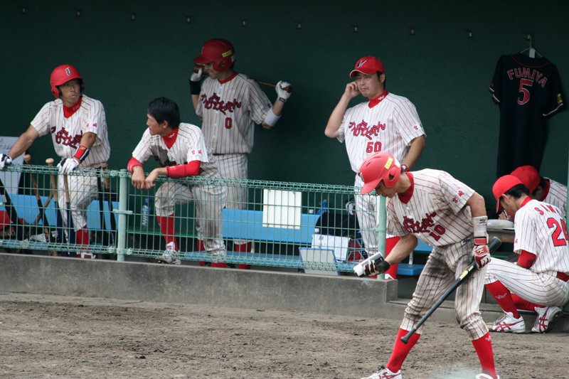 沒有固定球場的梅田學園棒球隊,以宮崎市內三個社區球場為主練習。 圖/梅田學園提供