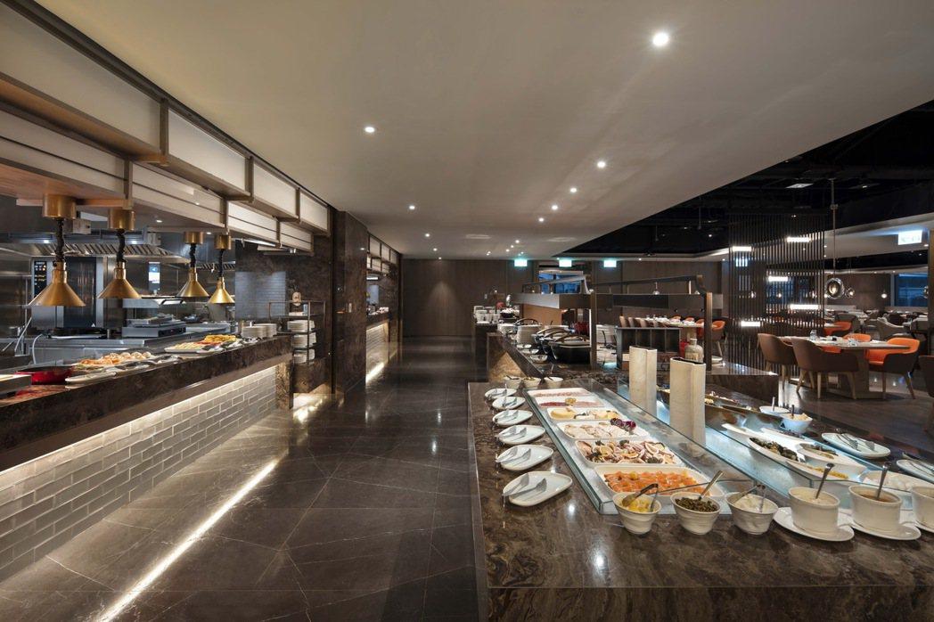 台北新板希爾頓酒店-Market Flavor悅.市集。台北新板希爾頓/提供