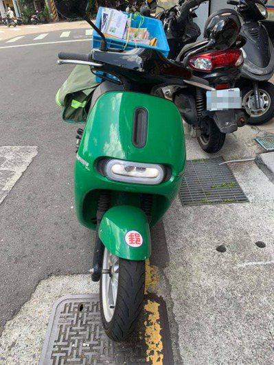 目前在大台北和高雄有1627輛電動機車投入中華郵政勤務。 圖/翻攝自「台北之北投...