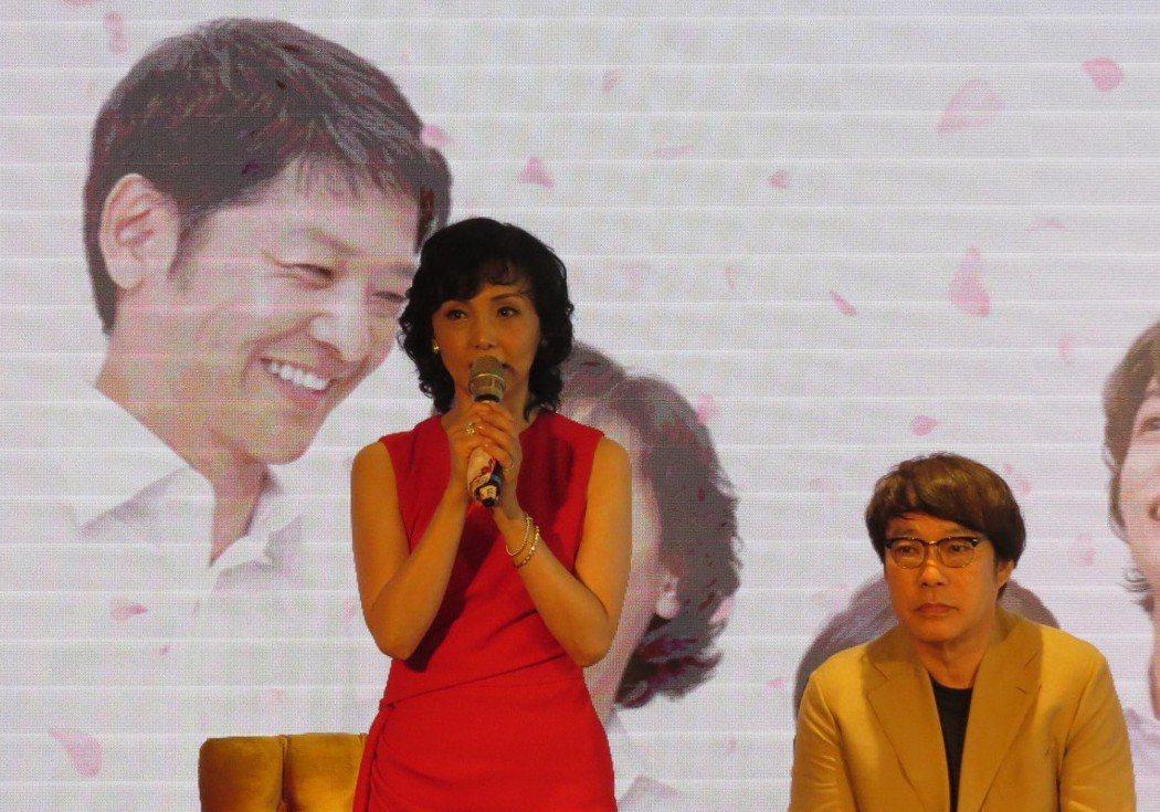 擁有高雅氣質的女主角南果,在台灣已有不少粉絲。 李福忠/攝影