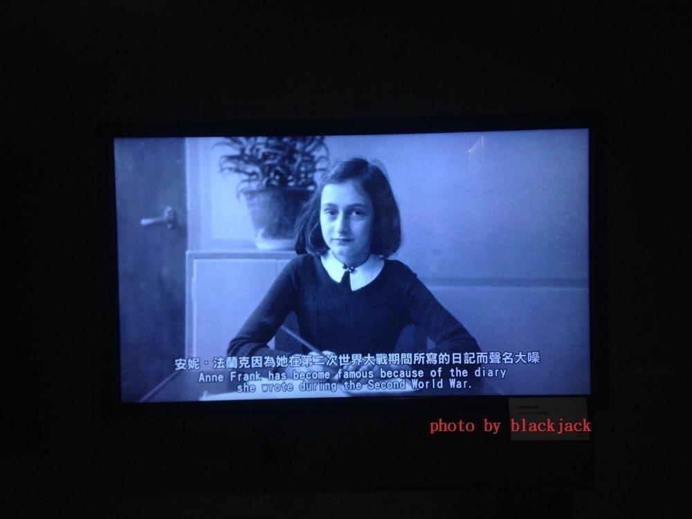 《安妮與阿嬤相遇:看見女孩的力量》展 筆者攝