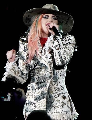 西洋流行音樂天后Lady GaGa,使用的也是藝名 (圖片來源:Wikimedi...