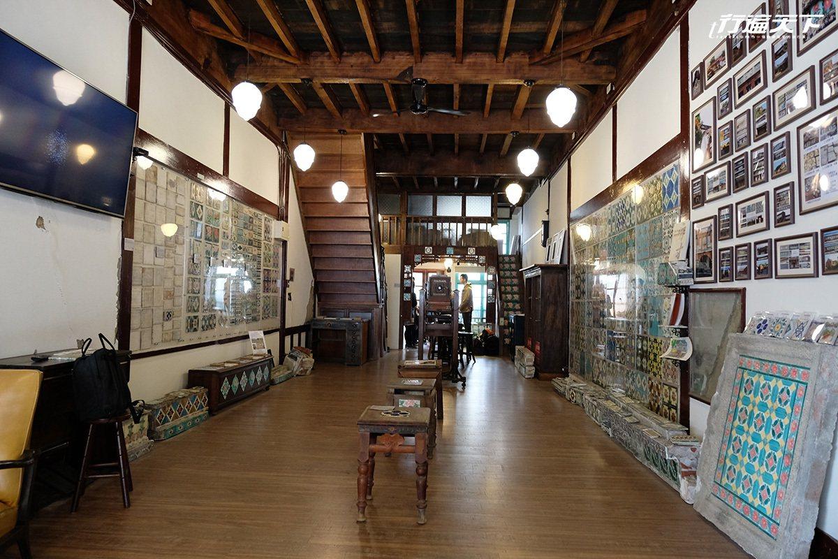 博物館本身為百年檜木造建築。