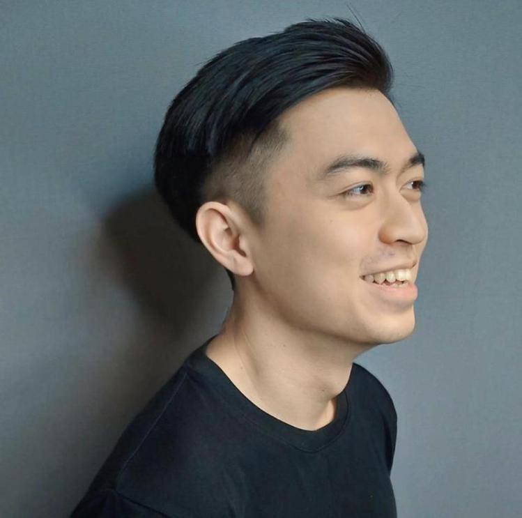 髮型創作/墨子 I Mozi / 台北東區剪髮Edgar。圖/StyleMap美...