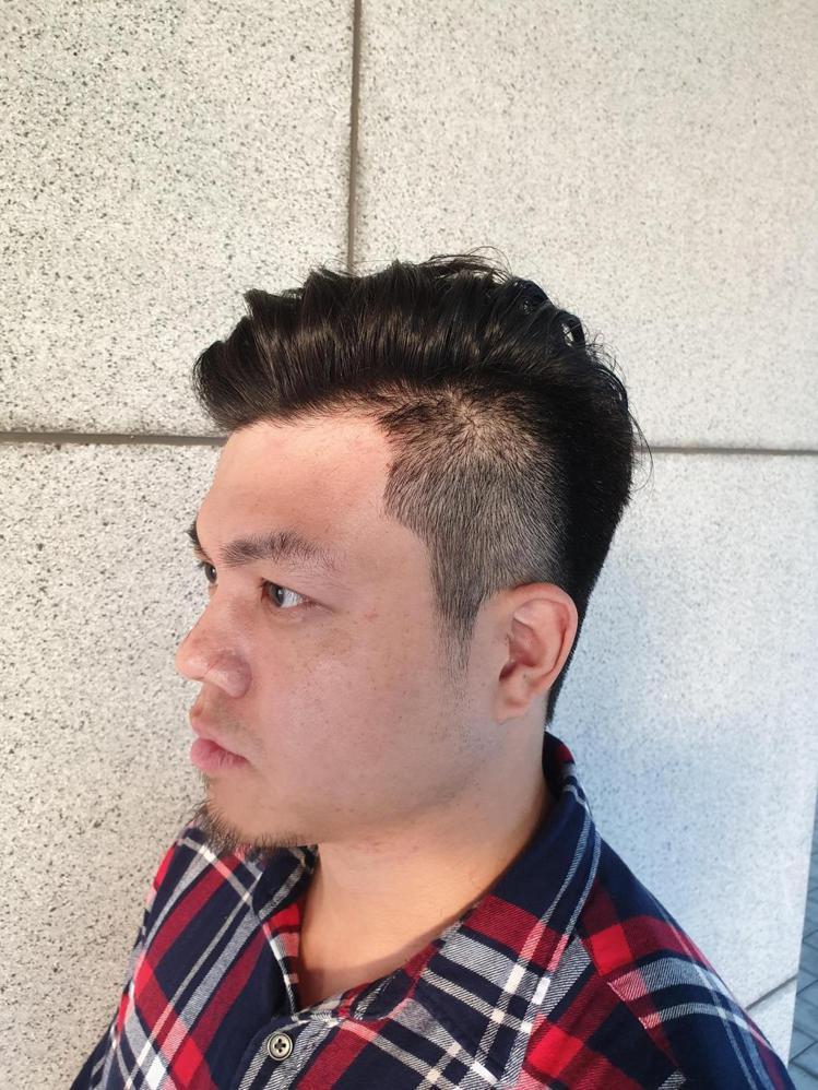 髮型創作/V-Shark / Kai 小凱。圖/StyleMap美配提供