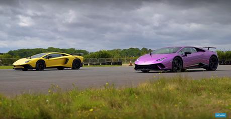 影/Lamborghini小牛跨級尬大牛!差100多匹還要比嗎?