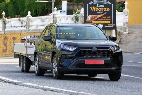 Toyota RAV4 Plug-in Hybrid上路被逮?估計可純電行駛48km