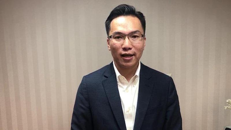 民進黨籍高雄市議員林智鴻。圖/高雄市議員林智鴻提供