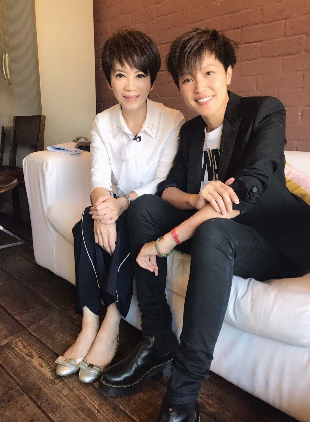 何韻詩接受陳雅琳專訪。圖/壹電視提供