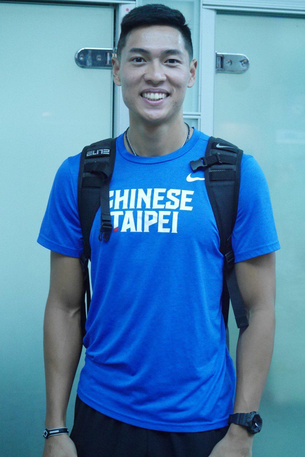「跨欄王子」陳傑。圖/中華田徑協會提供