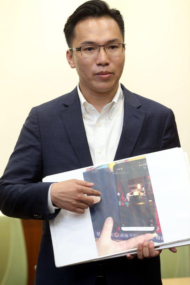 打韓爆紅的高雄市議員林智鴻。本報資料照片/記者邱德祥攝影