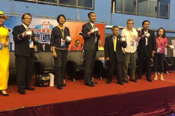 拳擊/台北城市盃邀請賽開打 各國好手同場競技