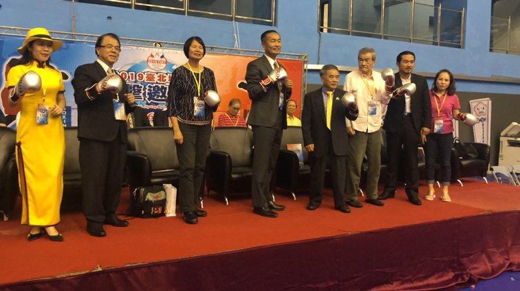 2019台北城市盃拳擊邀請賽今開打。圖/中華職業拳擊協會提供