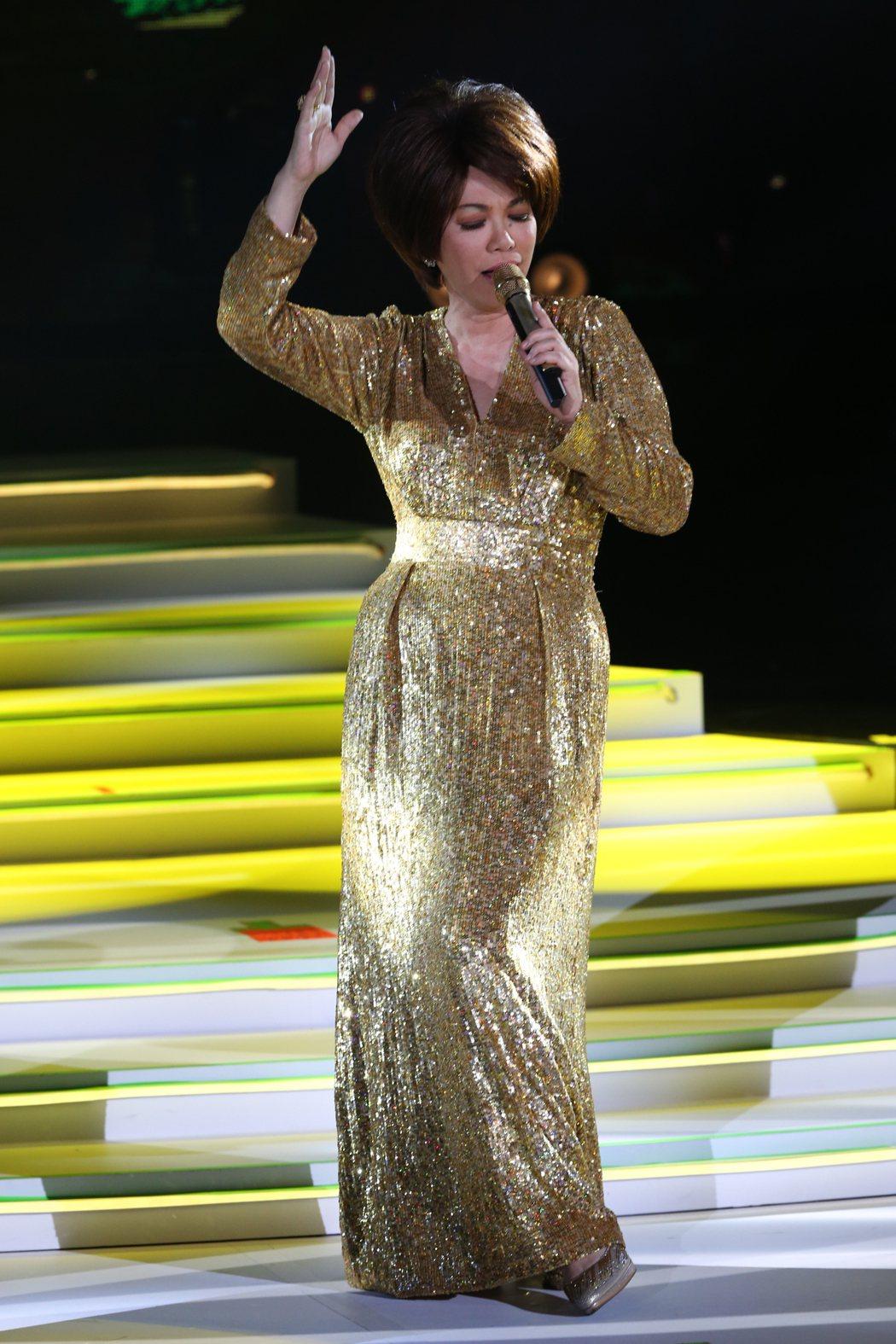 蔡琴開唱,台下政壇大咖化身小粉絲。記者許正宏/攝影