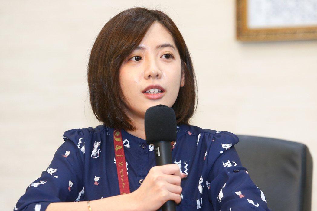 台北市府副發言人黃瀞瑩。圖/聯合報系資料照片