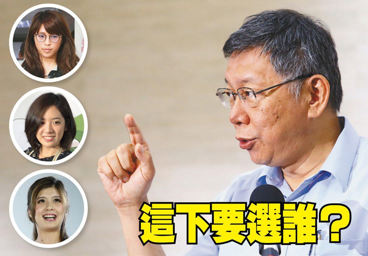 台北市長柯文哲組黨,不分區立委提名名單令人好奇。圖/聯合報系資料照片