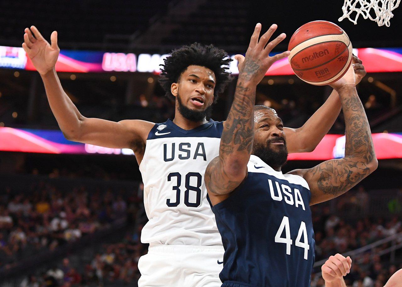 塔克(右)退出美國隊。 路透