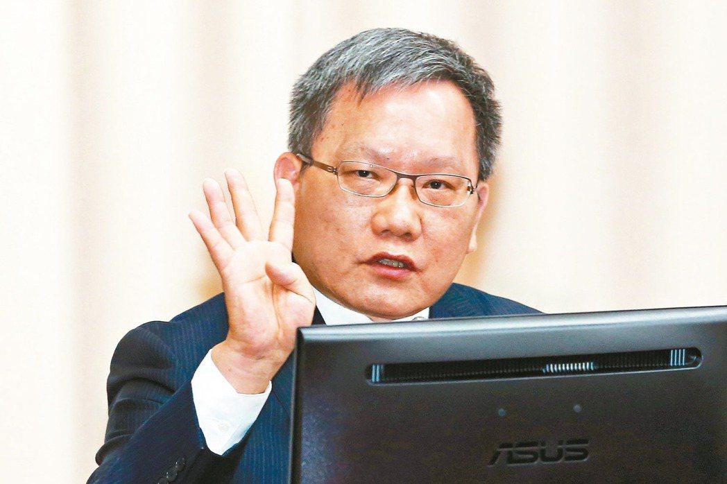 財政部長蘇建榮