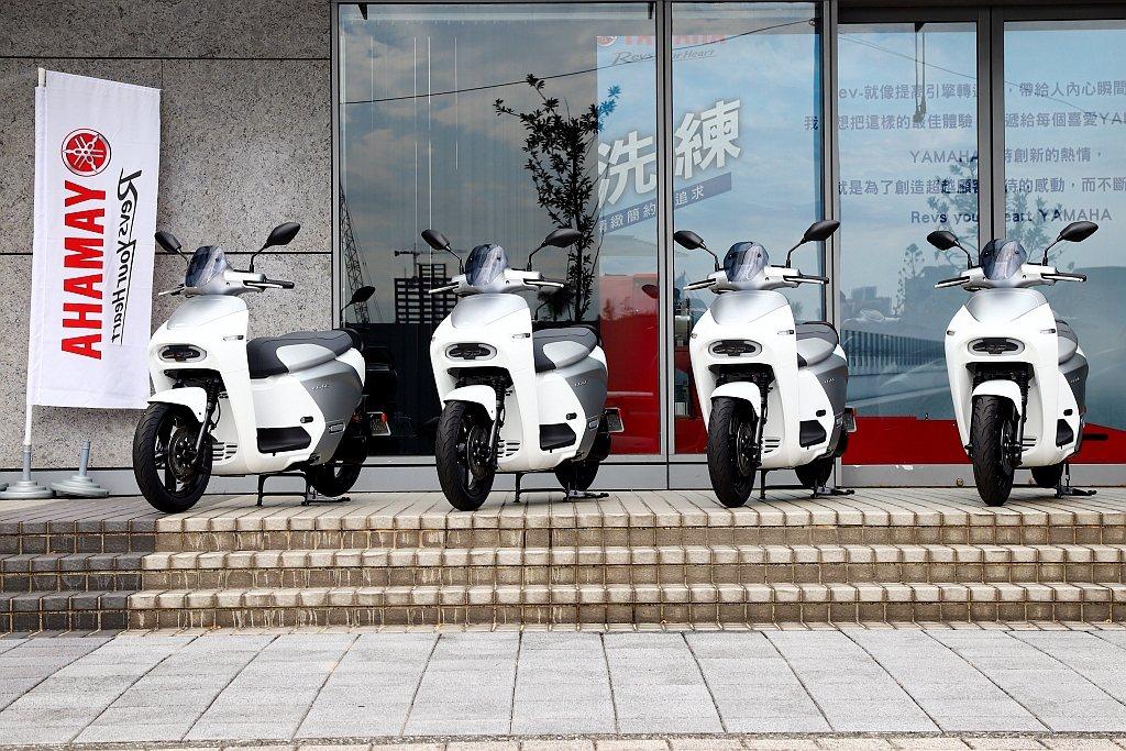 Yamaha EC-05即將在8月底開始交車,目前已經接單近千張。 記者張振群/...