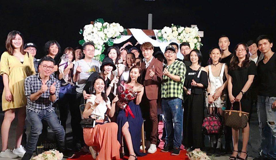 「星光一班」的許仁杰昨晚求婚成功。圖/摘自臉書