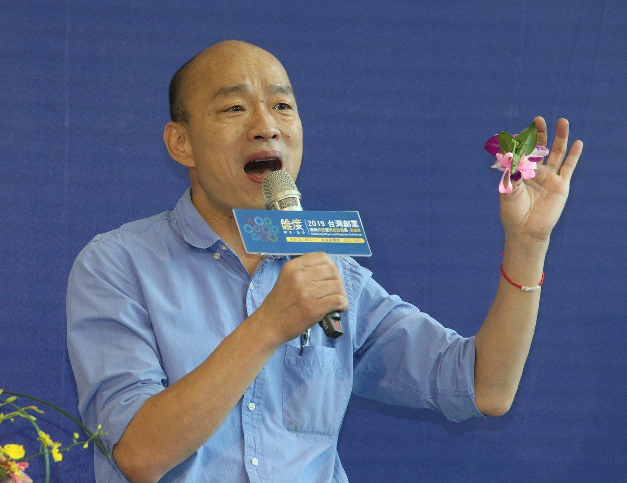 對於國民黨總統提名人韓國瑜找台積電創辦人張忠謀當副手的消息,韓競選總部下午表示「...
