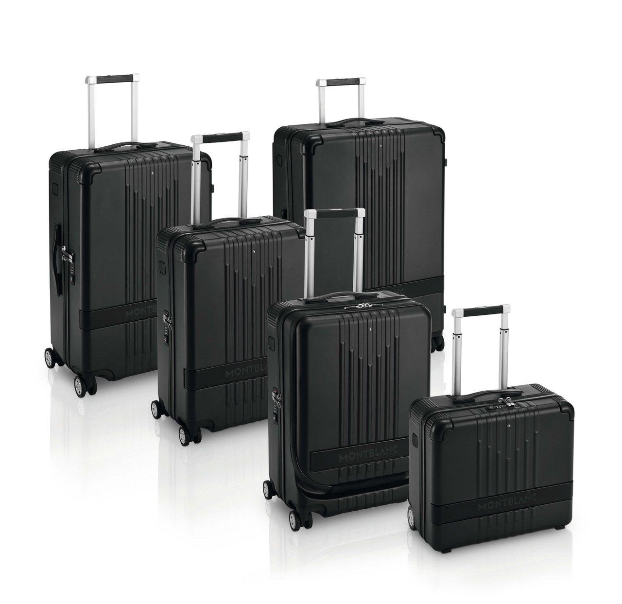 萬寶龍#MY4810系列行李箱,21,700元起。圖/Montblanc提供