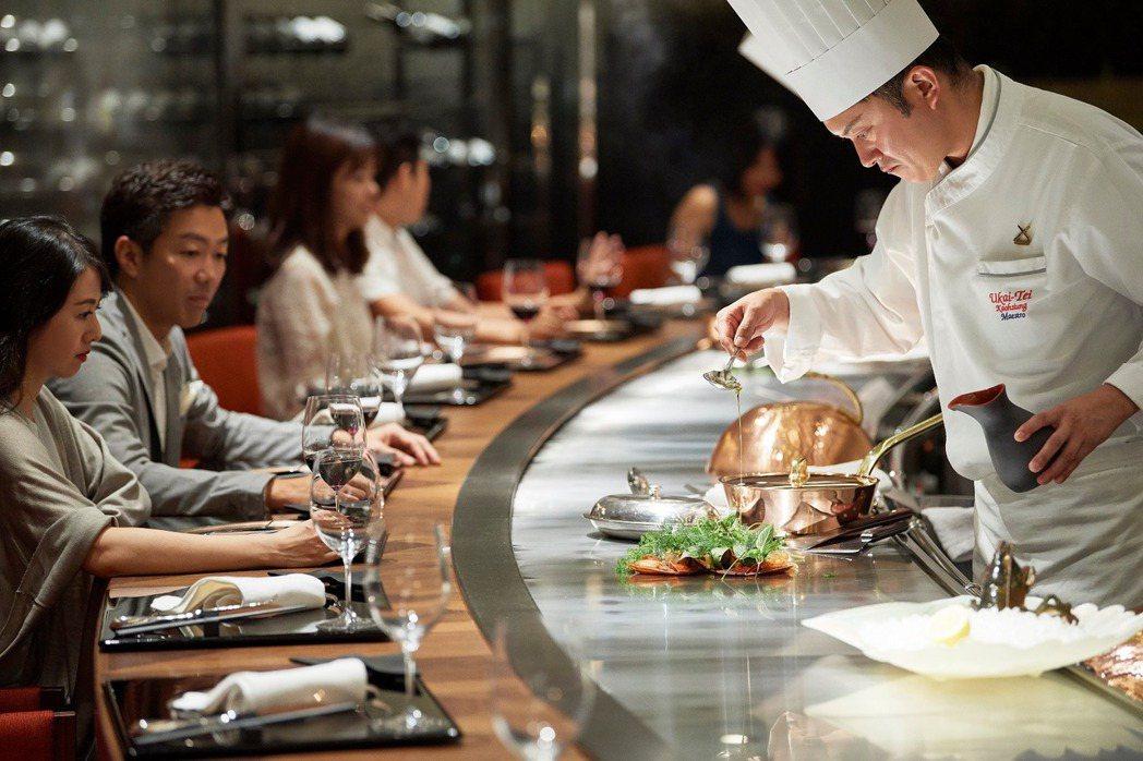 Ukai-tei Kaohsiung現有鐵板燒、西餐等2種形式,9月5日起將再新...