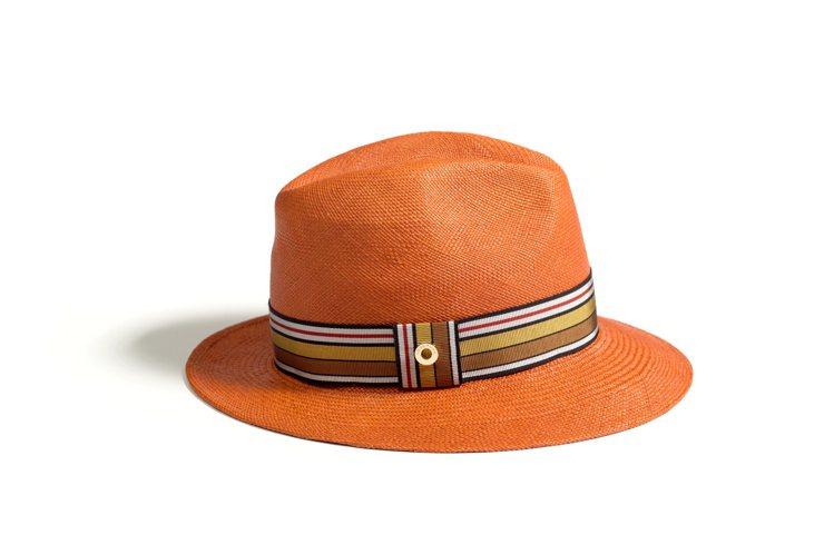 Ingrid Multistripes巴拿馬草帽,價格店洽。圖/Loro Pia...