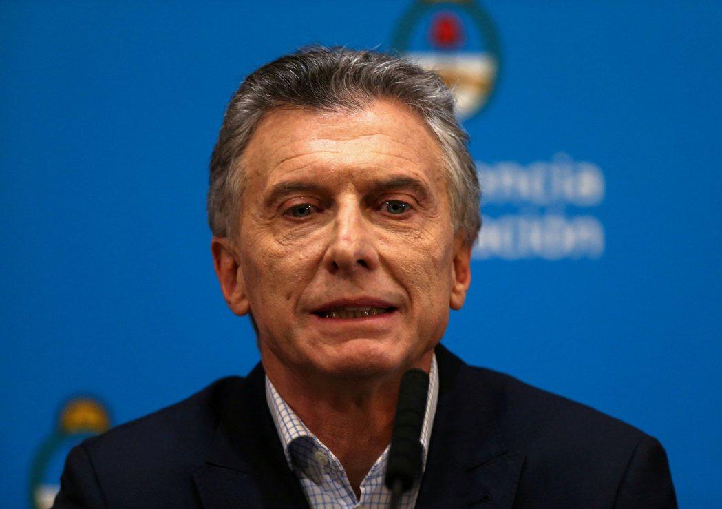 阿根廷現任總統馬克里。路透